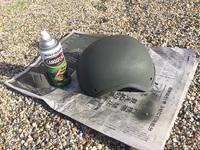 ヘルメットのお色直し〜Rabintex AIR CREW Helmet