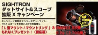 お得なキャンペーン★L型ハイマウントプレゼント+BB弾!