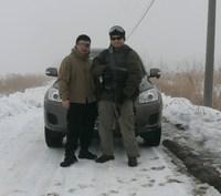 2月7日デイゲーム、雪の中での戦い。