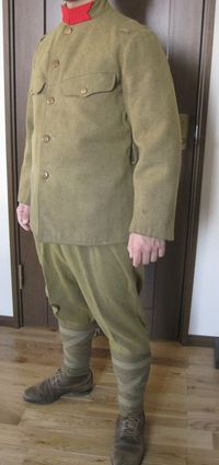 日本軍巻脚袢の巻き方(うおぬま奇兵連隊版)