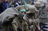 Hamas偽装兵鉢巻き