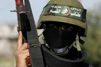 Hamasウットランドカモ鉢巻き(裾縫い糸黒色タイプ)