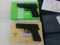 タナカ 9mm拳銃IC 新旧比較
