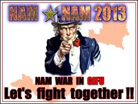 拝啓、『NAM☆NAM2013』より。