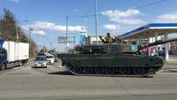 戦車が街中を走る道路を見てきた!