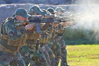 MARSOC射撃トレーニング