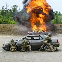2017 CAPEXに参加している米陸軍メンバーの装備