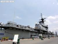 世界最小の航空母艦、タイ王国海軍の空母「チャクリ・ナルエベト」