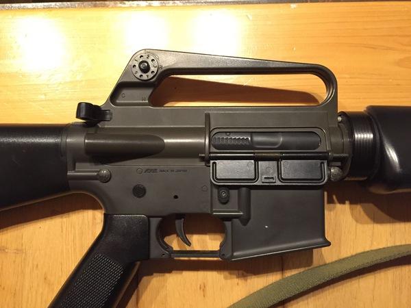 M16A1 1992ver裏レシーバー