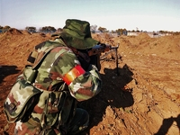 コソヴォ戦時M93迷彩試作タクティカルベスト
