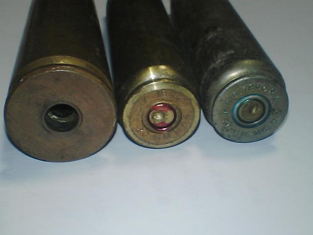理想のガンを追いかけて:20mm機関砲弾