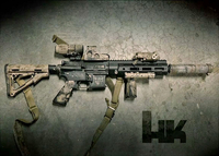 KIMPLACUSTOM HK416 Crush Ring