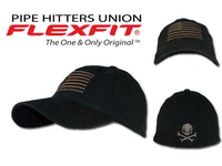 PIPE HITTERS UNION AMERICAN FLAG HAT