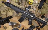 King Arms 製 ナイツ SR-16 オーバーホール 組み立て編