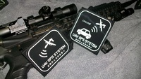 UAV GPS SYSTEM ステッカー
