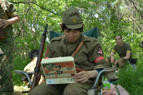 日本兵と昭和弁当