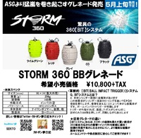 ASG 【STORM 360 BBグレネード】 -起爆実験- Chapter3