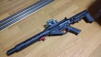 SR25+SOCOM47 in GATE TITAN カスタム その3