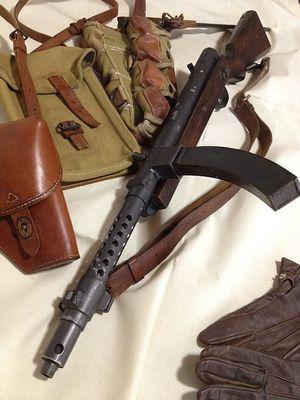 100式機関短銃後期型