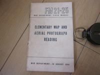 FM 21-25 「基礎の地図および航空写真の見方」