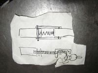 SHOEI 電動MG42 開発物語3(決断!この一枚の落書きから・・・)