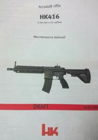 次世代HK416Dの気になるところを改修