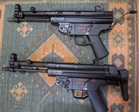 VFC 電動MP5 ダイキャストとスチールプレス比較