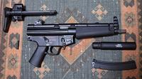 VFC 電動MP5 実物ストックの装着