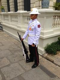 タイ王宮警備兵