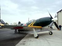 日本軍機を見にね。