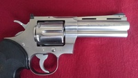 My gun's memory ~COLT PYTHON STAINLESS・・・