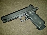 STI Tactical 5.0 その3 CerakoteFinnish