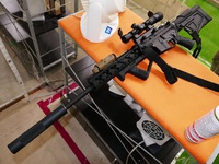 S.R.U SR-Q AR Sniper Stock for WE M4 GBBR