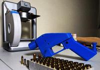 3Dプリンター使い銃製造=不法所持、逮捕