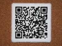 携帯サイト刺繍QRパッチ