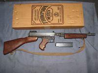 MGCトンプソンSMGモデル紙火薬仕様をCP化&MG情報も
