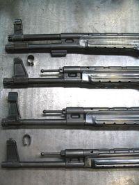 Mkb42(H)・MP・Stg44 フロント周り比較