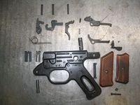 MP43/1 ハンドグリップ内機関部