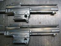 製作中のMP43/1 MP43