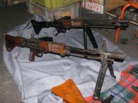 FG42Ⅰ・Ⅱ MKB MP43 MP44