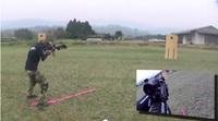 宮崎県 シューティングマッチ 2013年3月31日 芝畑