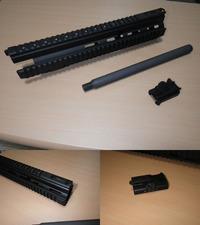 HK417 20inchスナイパーコンバージョンキット組み込み