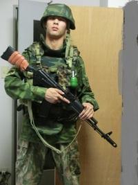 久々のロシア軍装