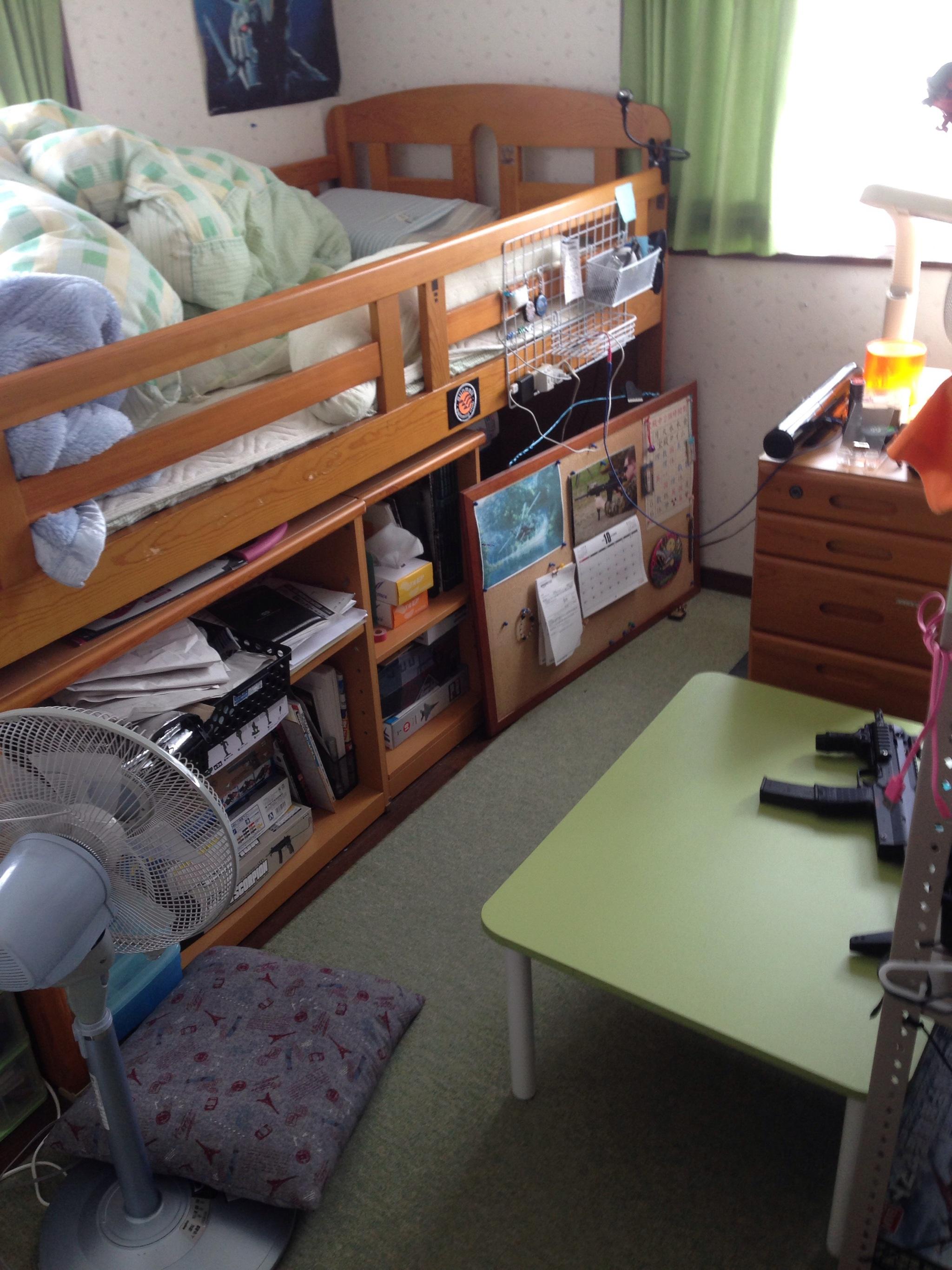 たあしいの主にmp7を愛する:ベッド解体及び模様替え