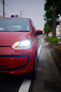 Volkswagen UP! HID化、オートライト