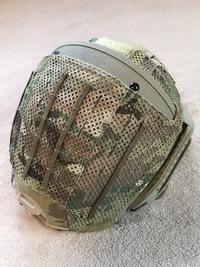 CRYE AirFrame (4) Helmet Cover Cutoutとの相性は。