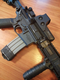 『WA M4』 リコイルと撃ち味を考えてみる(1)。
