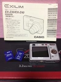 カシオ デジタルカメラ EXILIM EX-Z40購入‼︎