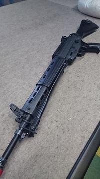 89式小銃固定銃床 後部配線化