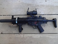 LOVE&PEACE  トレポン MP5SD